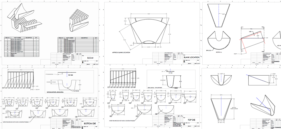 Shop Assembly Drawings